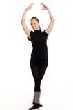 милая девушка танцы Стоковое фото RF