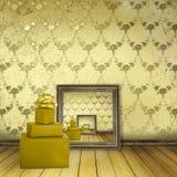 παλαιό παρόν δωμάτιο τόξων Στοκ εικόνες με δικαίωμα ελεύθερης χρήσης