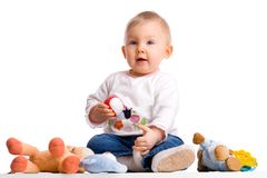 мои игрушки Стоковое фото RF
