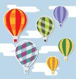 μπαλόνια ανασκόπησης Στοκ Εικόνες