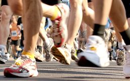 αφήνει το τρέξιμο Στοκ εικόνα με δικαίωμα ελεύθερης χρήσης
