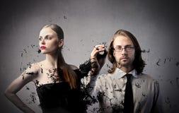 Σχεδιαστής μόδας Στοκ φωτογραφία με δικαίωμα ελεύθερης χρήσης