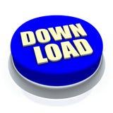 按钮下载 免版税库存照片