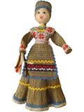 白俄罗斯玩偶 免版税库存照片