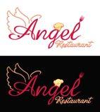 设计您徽标的餐馆 免版税库存图片