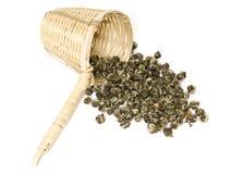 зеленый чай жасмина Стоковое Изображение RF