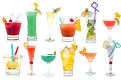 вычура питья коктеилов Стоковое Изображение RF