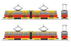 τραμ Στοκ εικόνα με δικαίωμα ελεύθερης χρήσης