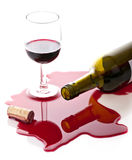 红葡萄酒 免版税库存照片