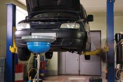 обслуживание автомобиля Стоковые Фото