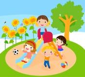 孩子使用 免版税库存图片