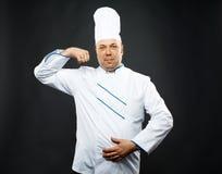 Βέβαιος αρχιμάγειρας Στοκ εικόνα με δικαίωμα ελεύθερης χρήσης