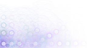 边界角落退色的紫色 免版税库存图片