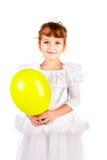 气球女孩 库存图片