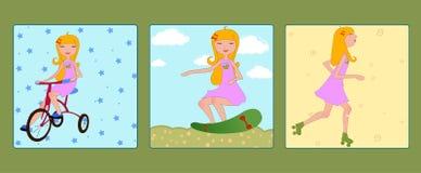 девушки молодые Стоковые Фотографии RF
