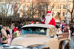 圣诞节游行 免版税库存图片