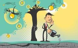 想法结构树 免版税库存图片