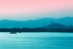 θερινό ηλιοβασίλεμα παλ Στοκ εικόνες με δικαίωμα ελεύθερης χρήσης