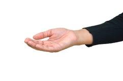рука открытая Стоковые Фото