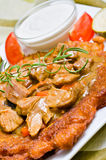 венгерская картошка блинчика Стоковое фото RF