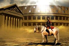 罗马的百人队队长 免版税库存照片