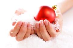 καρφί Χριστουγέννων τέχνης Στοκ Εικόνα