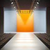 κενός διάδρομος μόδας Στοκ φωτογραφίες με δικαίωμα ελεύθερης χρήσης
