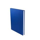 蓝色记事本 免版税库存图片