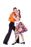 крен утеса танцоров Стоковое Фото
