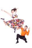 танцоры трясут крен Стоковые Фотографии RF