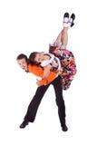 танцоры трясут крен Стоковая Фотография