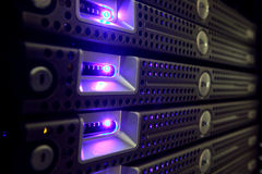 серверы сети Стоковая Фотография RF