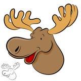 麋野生动物 免版税库存图片