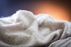 布料构造羊毛 免版税库存照片