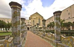 修道院色彩强烈 库存照片