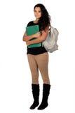 可爱的女学生 免版税图库摄影