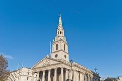英国调遣伦敦马丁圣徒 库存图片