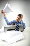 命令扫描程序 免版税库存照片