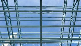 建筑框架钢 库存照片