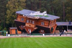 屋顶的之家 免版税库存图片