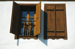 двойные окна Стоковое Фото