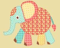应用大象 免版税库存照片