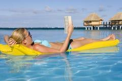 法国和平的波里尼西亚南假期 免版税库存照片