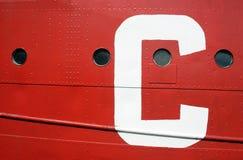 巴尔的摩切塞皮克犬海博物馆船 免版税图库摄影