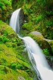 泉水瀑布 库存图片