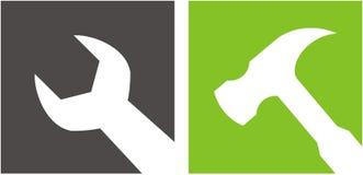επισκευή λογότυπων Στοκ Φωτογραφίες