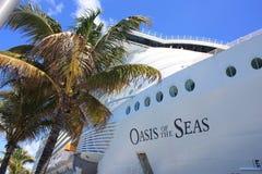 巡航划线员绿洲海运 库存图片