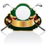 巴洛克式的高尔夫球 免版税库存图片