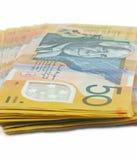 австралийские деньги Стоковое Изображение RF