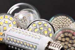 οδηγημένο βολβός φως Στοκ εικόνα με δικαίωμα ελεύθερης χρήσης